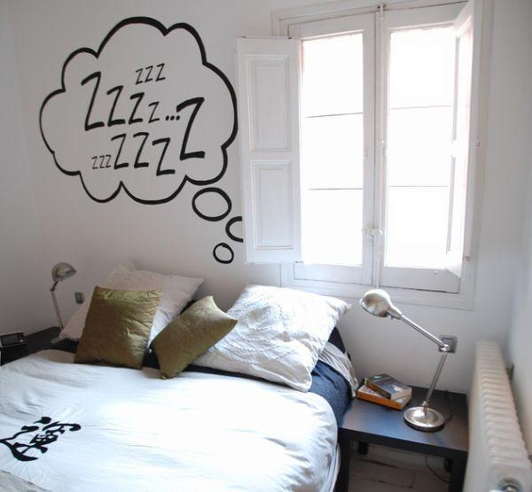 Trang trí tường nhà thêm xinh với đề can 4