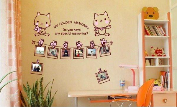Trang trí tường nhà thêm xinh với đề can 7