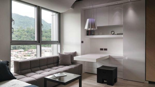 Bài trí nội thất thông minh và tiện nghi cho căn hộ 21 mét vuông 2