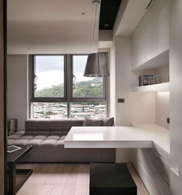 Bài trí nội thất thông minh và tiện nghi cho căn hộ 21 mét vuông 3