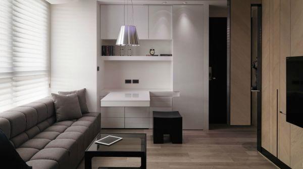 Bài trí nội thất thông minh và tiện nghi cho căn hộ 21 mét vuông 1