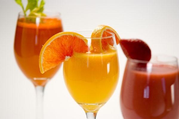Những loại nước ép hoa quả giúp giải rượu nhanh hơn