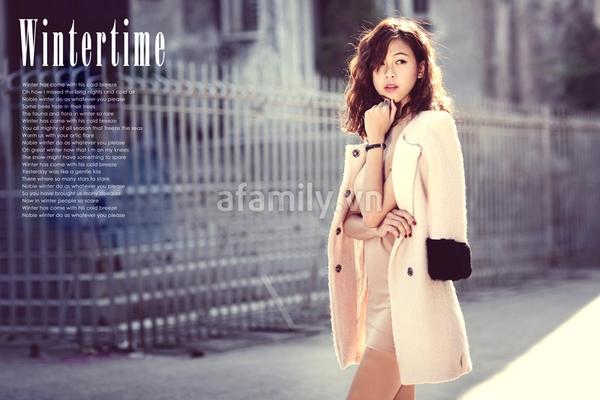 Mặc đẹp ngày đông với áo khoác màu trung tính 2
