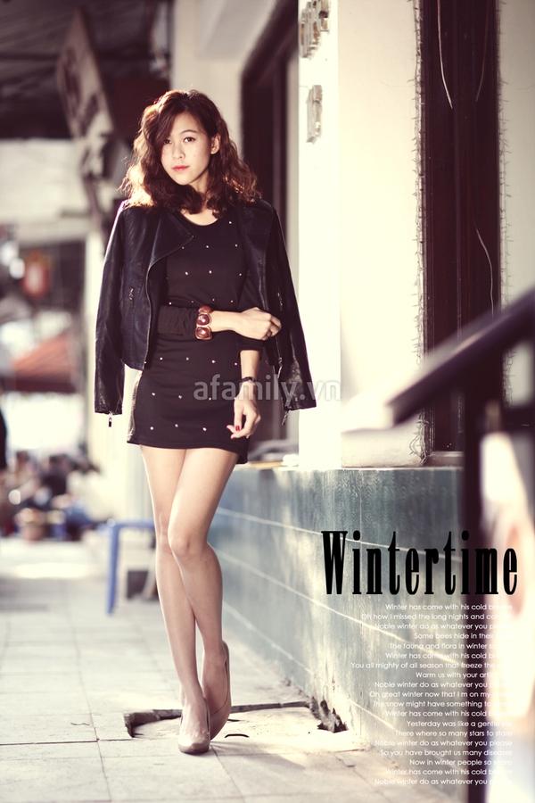 Mặc đẹp ngày đông với áo khoác màu trung tính 12
