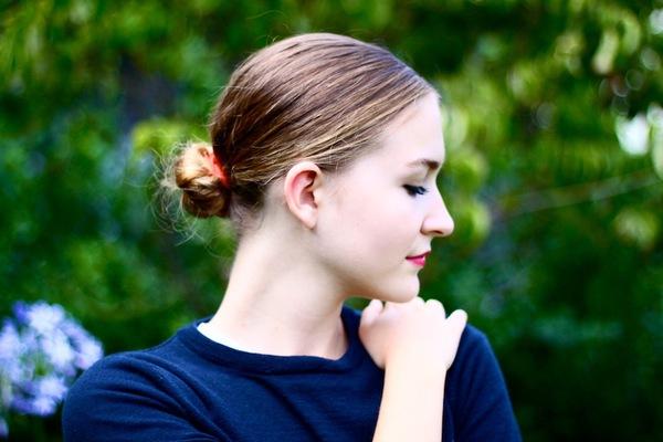 7 kiểu tóc búi/cột bạn nên thử cho mùa Hè 2013 13