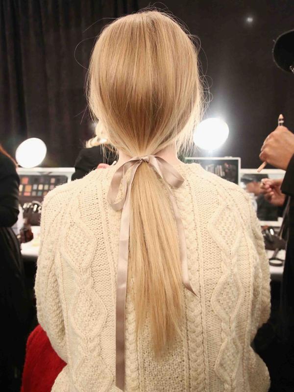 7 kiểu tóc búi/cột bạn nên thử cho mùa Hè 2013 18