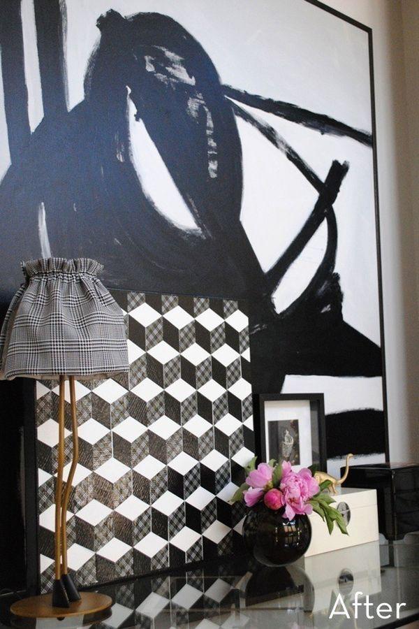 Làm mới không gian và đồ nội thất bằng băng dính Washi 9
