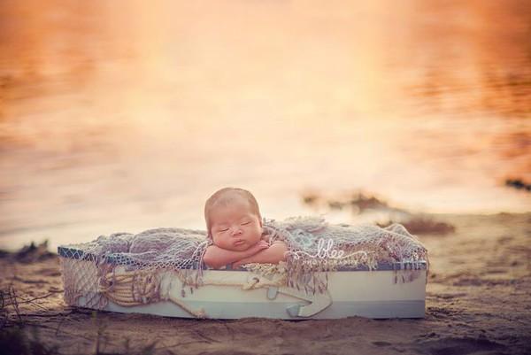 Ngất ngây ngắm chùm ảnh em bé ngủ ngon lành giữa thiên nhiên  3