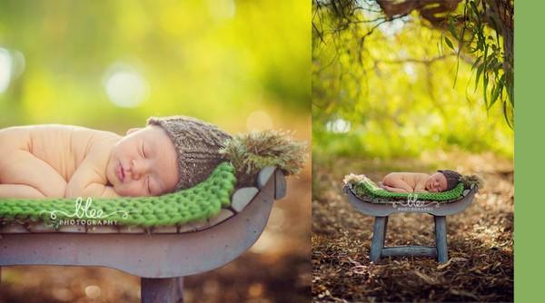 Ngất ngây ngắm chùm ảnh em bé ngủ ngon lành giữa thiên nhiên  6
