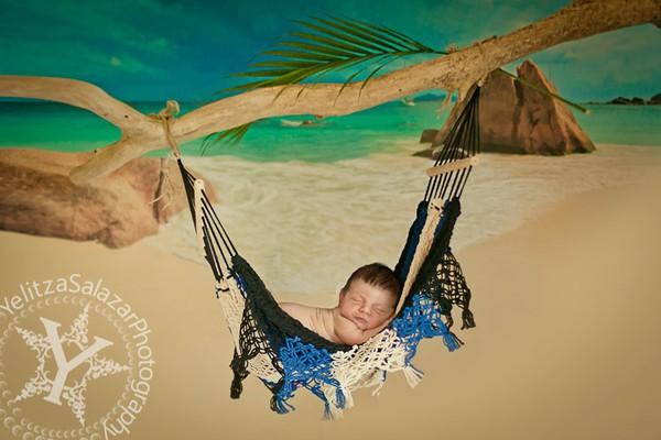 Ngất ngây ngắm chùm ảnh em bé ngủ ngon lành giữa thiên nhiên  10