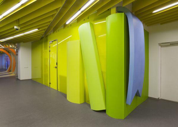 Top 10 trụ sở có thiết kế nội thất thú vị nhất năm 2013 (Phần 2) 5