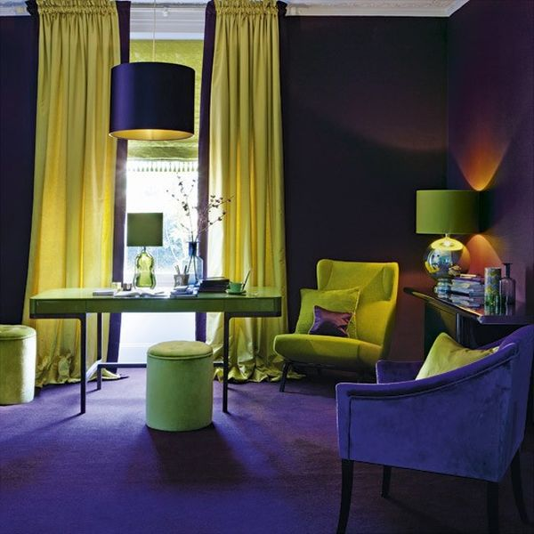 8 cặp màu sắc tuyệt vời cho phòng làm việc 5