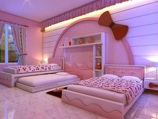 Không gian sống ngọt ngào hơn nhờ... chú mèo Hello Kitty 5