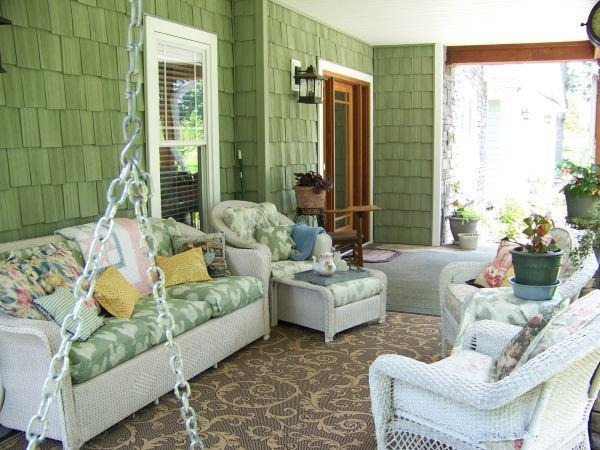 Nhà tươi mát trong nắng hè với màu xanh vỏ chanh 4