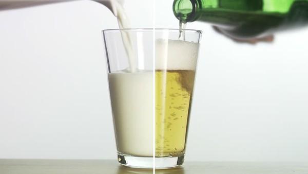 vitamin thần kỳ trong bia sữa