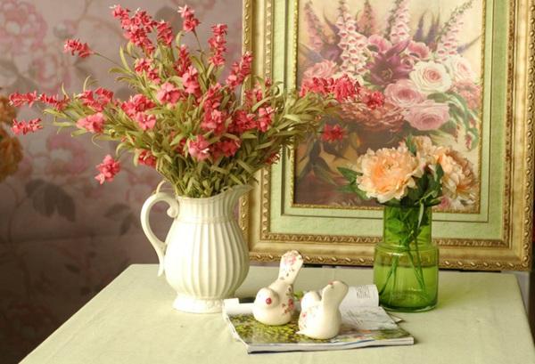 Bài trí bình hoa hợp phong thủy giúp nhà đẹp và tình thắm 4
