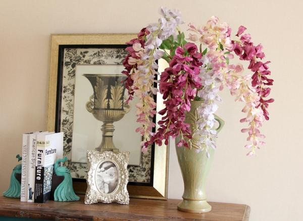 Bài trí bình hoa hợp phong thủy giúp nhà đẹp và tình thắm 9