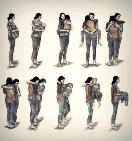 Những hình ảnh về mẹ làm rung động hàng vạn trái tim 1