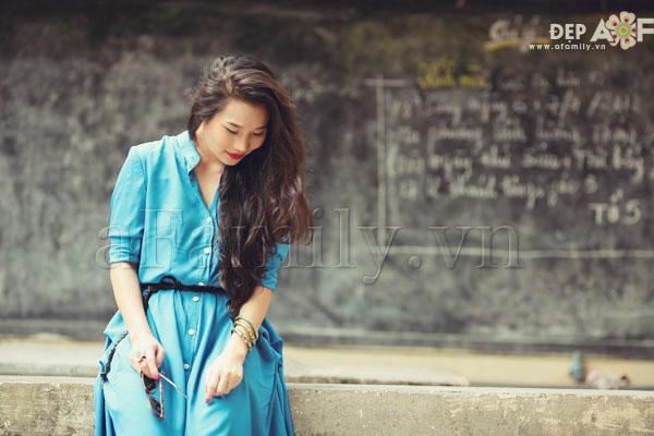 """Liu Trần - quý cô """"mặc váy dài 10 năm chưa biết chán!"""" 2"""