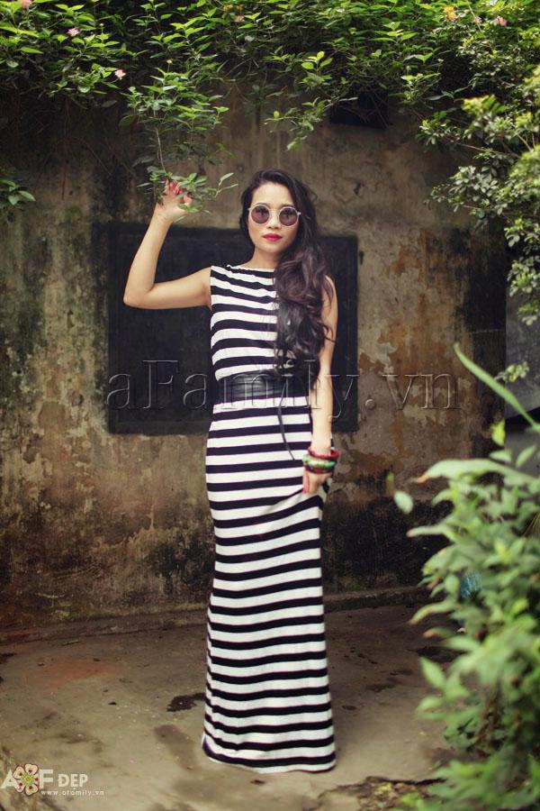 """Liu Trần - quý cô """"mặc váy dài 10 năm chưa biết chán!"""" 12"""
