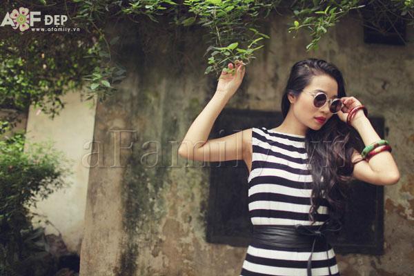 """Liu Trần - quý cô """"mặc váy dài 10 năm chưa biết chán!"""" 8"""