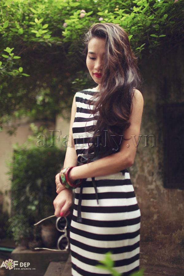 """Liu Trần - quý cô """"mặc váy dài 10 năm chưa biết chán!"""" 9"""