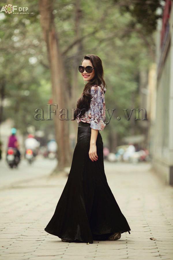 """Liu Trần - quý cô """"mặc váy dài 10 năm chưa biết chán!"""" 14"""