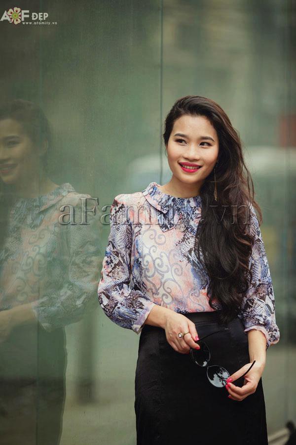 """Liu Trần - quý cô """"mặc váy dài 10 năm chưa biết chán!"""" 16"""