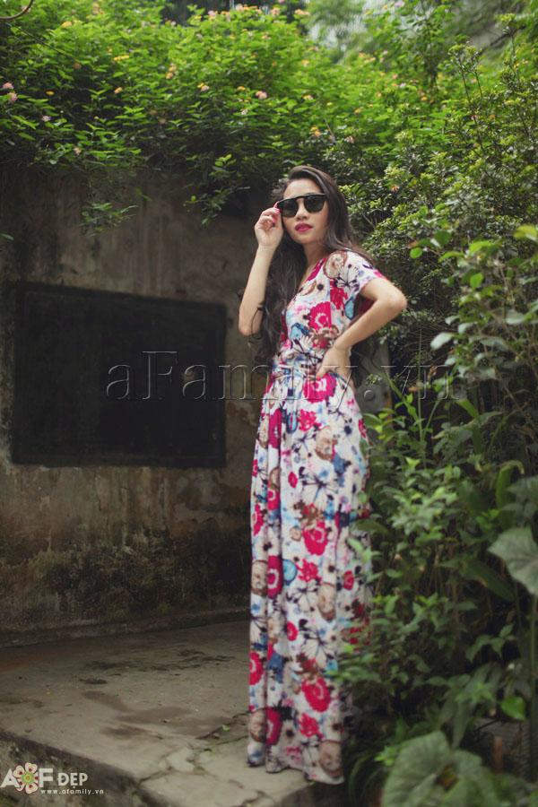 """Liu Trần - quý cô """"mặc váy dài 10 năm chưa biết chán!"""" 27"""
