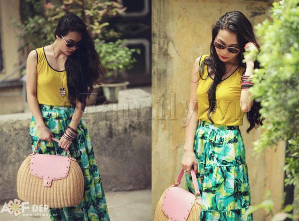 """Liu Trần - quý cô """"mặc váy dài 10 năm chưa biết chán!"""" 21"""