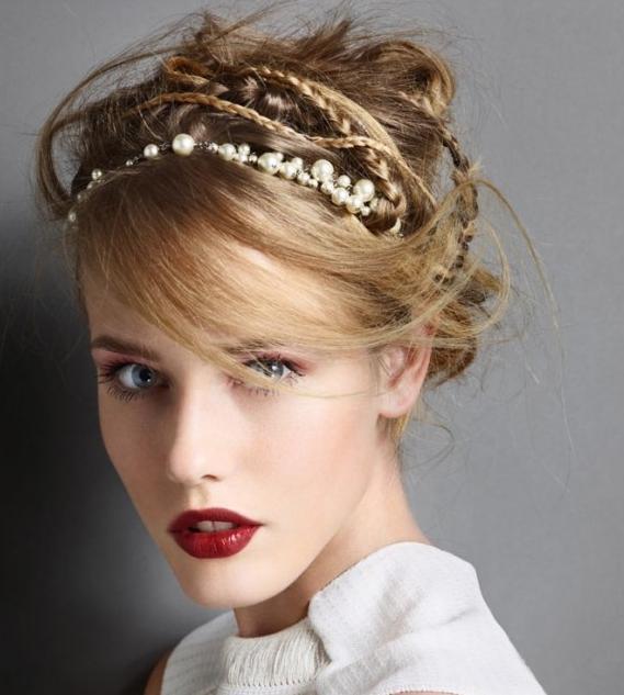 7 kiểu tóc búi/cột bạn nên thử cho mùa Hè 2013 6