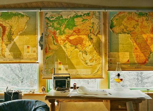 Tận dụng bản đồ cũ để trang trí nhà thêm xinh 5