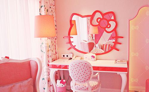 Không gian sống ngọt ngào hơn nhờ... chú mèo Hello Kitty 8