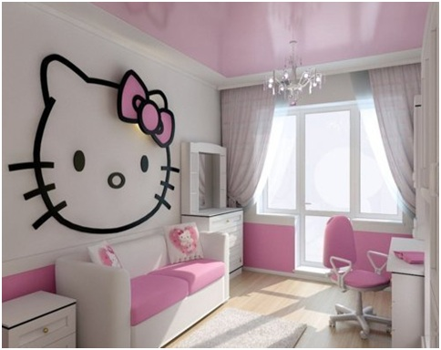 Không gian sống ngọt ngào hơn nhờ... chú mèo Hello Kitty 7