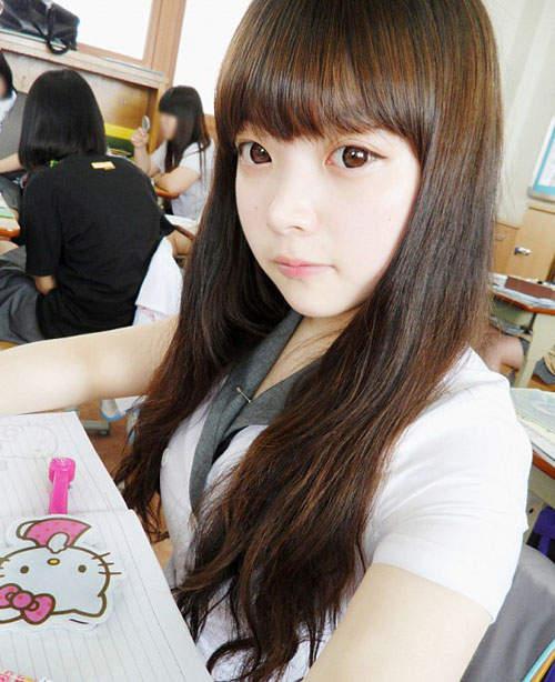 Gương mặt thật gây sốc của các búp bê xinh đẹp xứ Hàn 5