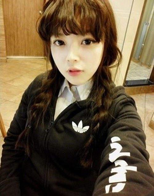 Gương mặt thật gây sốc của các búp bê xinh đẹp xứ Hàn 7