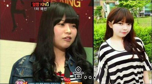 Gương mặt thật gây sốc của các búp bê xinh đẹp xứ Hàn 11
