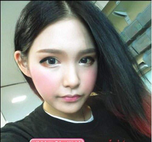 Gương mặt thật gây sốc của các búp bê xinh đẹp xứ Hàn 1