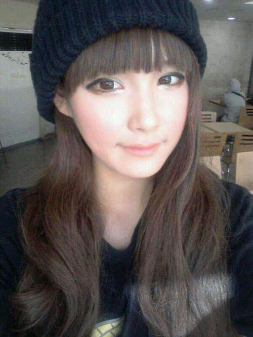 Gương mặt thật gây sốc của các búp bê xinh đẹp xứ Hàn 4