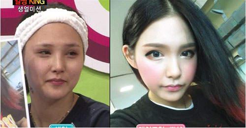 Gương mặt thật gây sốc của các búp bê xinh đẹp xứ Hàn 12