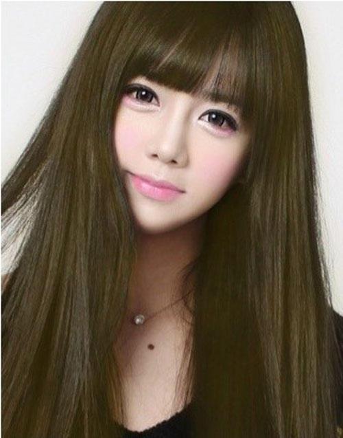 Gương mặt thật gây sốc của các búp bê xinh đẹp xứ Hàn 13