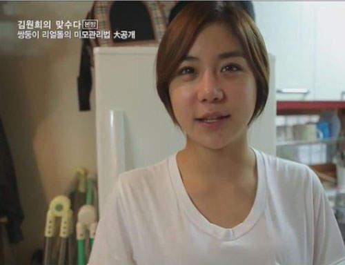 Gương mặt thật gây sốc của các búp bê xinh đẹp xứ Hàn 19