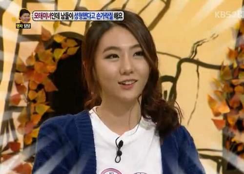 Gương mặt thật gây sốc của các búp bê xinh đẹp xứ Hàn 25
