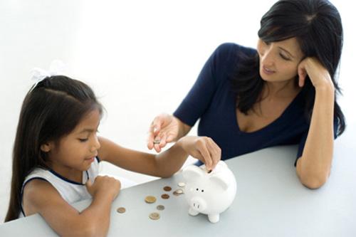 Chia sẻ kinh nghiệm cho con tiền tiêu vặt