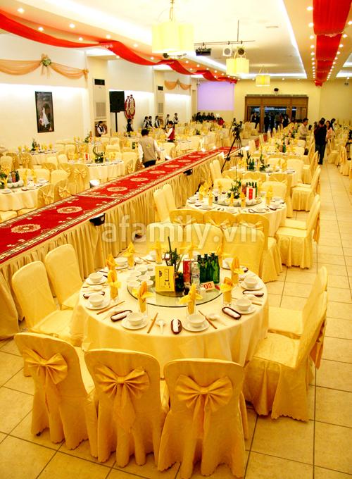 Đắt khách dịch vụ đặt tiệc cưới tại Hà Nội 1