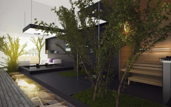 Ngôi nhà gần gũi với thiên nhiên