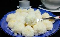 Bánh sữa tươi lăn dừa, thơm lừng thanh mát cho ngày hè
