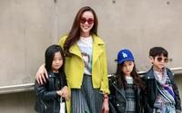 Sella Trương cực chất với cách phối đồ màu sắc tại Seoul Fashion Week