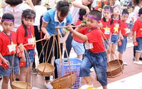 Tham gia ngày hội thể thao thật vui, thật bổ ích cùng các em nhỏ tại trường CGD Vitory