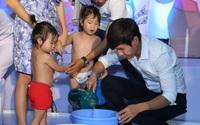 Vợ chồng Lý Hải, Minh Hà kể chuyện chăm sóc đàn con với 4 nhóc tì